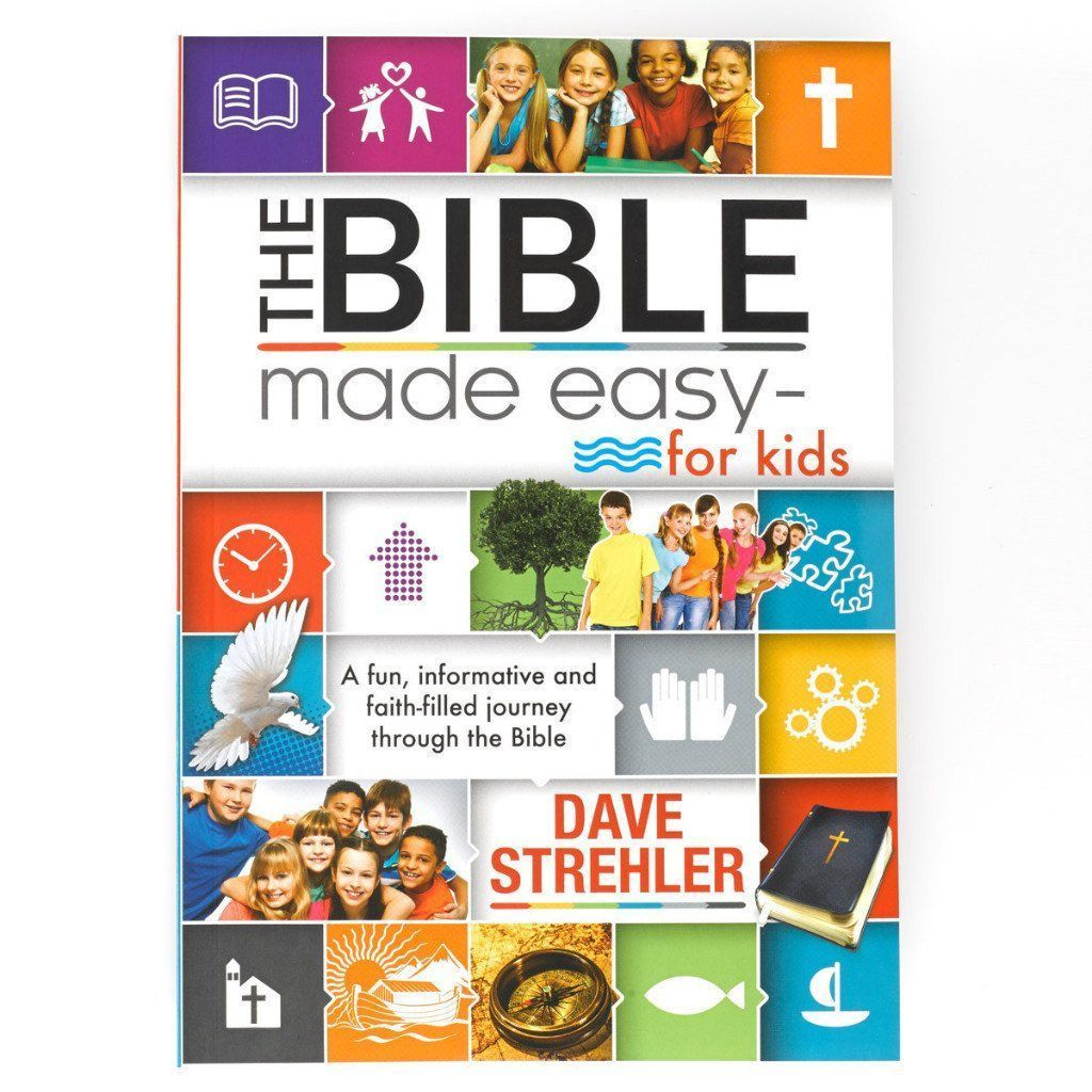 The Bible Made Easy For Kids Bible, Toddler books