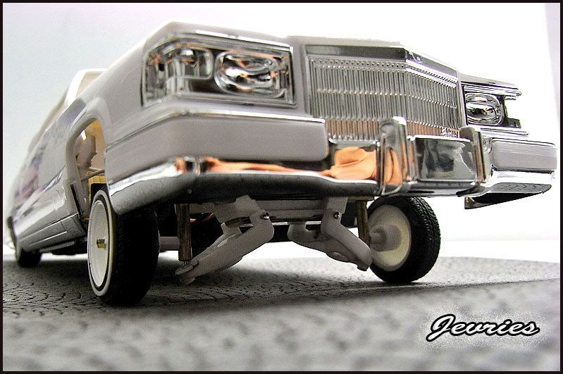 Im a dedicated builder of working lowrider models since