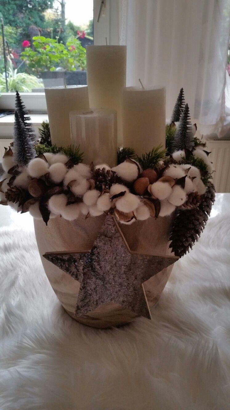 selbst gemacht kunst pinterest gestecke winterdeko und weihnachtsbasteln. Black Bedroom Furniture Sets. Home Design Ideas
