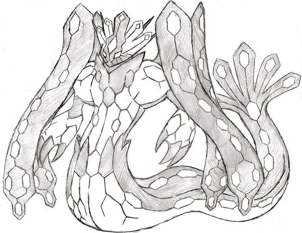Project Fakemon Zygarde Forme By Xxd17 Art Projects Pokemon
