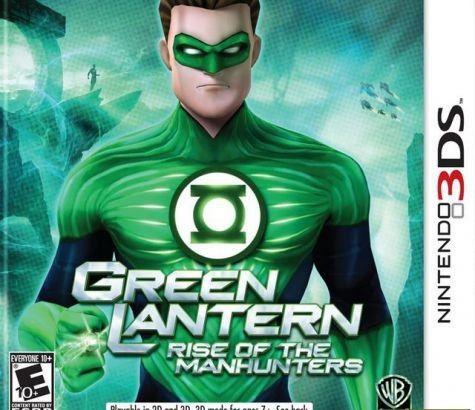 Green Lantern: Rise of the Manhunter (3DS)
