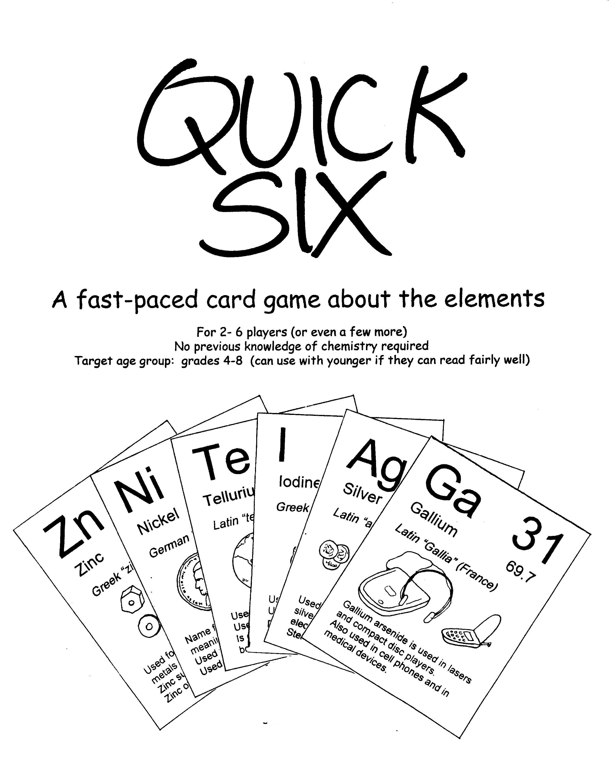 periodic table card game website has other cute games - Periodic Table Zi