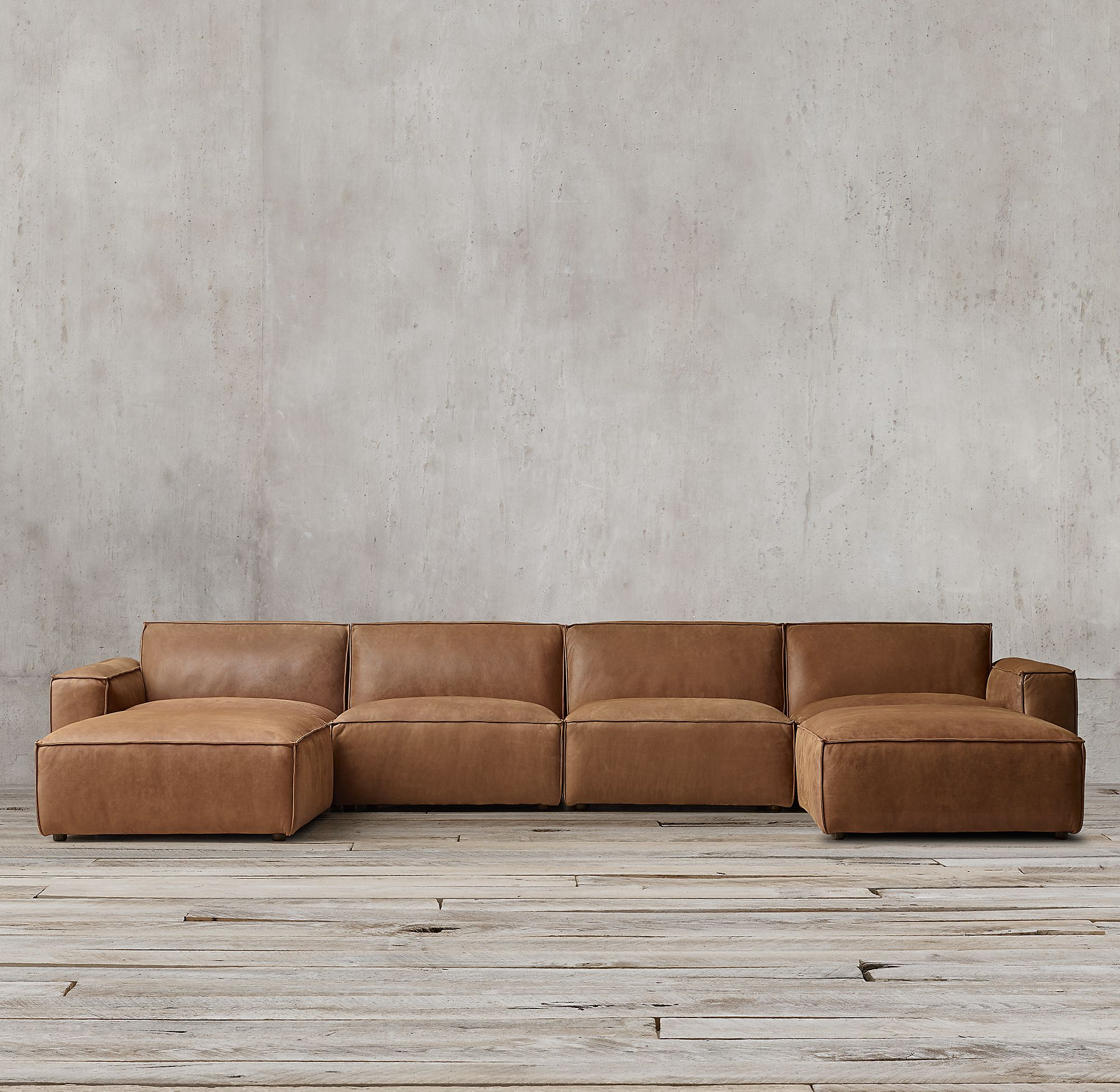 Pin On Modern Leather Sectional