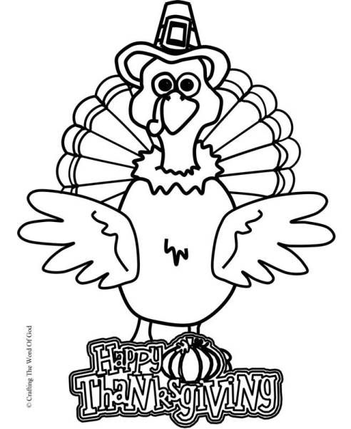 Thanksgiving Turkey (Coloring Page) Coloring pages are a