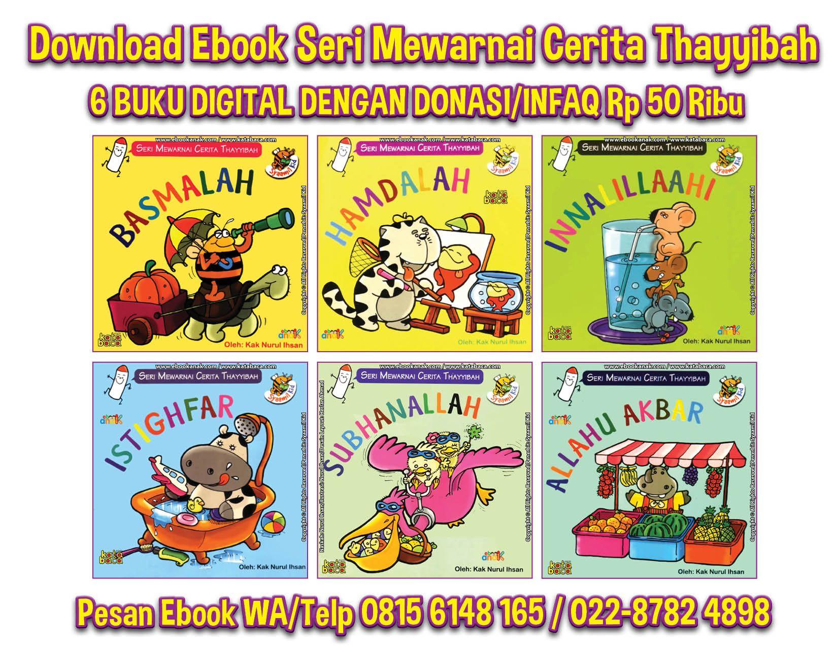 Download Ebook Seri Mewarnai Cerita Thayyibah Burung