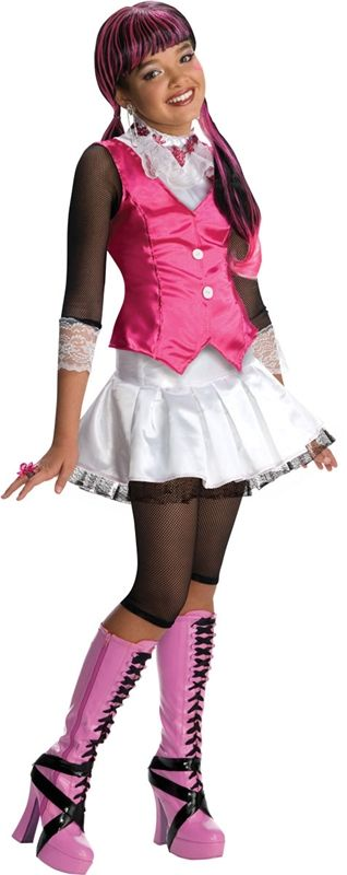 Monster High Deluxe Draculaura Child Costume  sc 1 st  Pinterest & Monster High Deluxe Draculaura Child Costume | Children costumes ...
