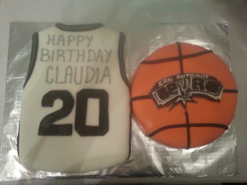 San Antonio Spurs cake by Englan Grover Cakes Pinterest