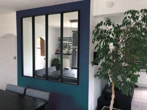 une verri re miroir avec ikea deco pinterest salons ikea hack and salon cosy. Black Bedroom Furniture Sets. Home Design Ideas