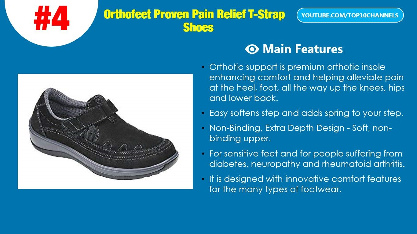 c64a53dee01e Top 10 best walking shoes for plantar fasciitis 2018 - 2019. Comfortable  Plantar Fasciitis shoes. Orthopedic Diabetic Shoes. Orthofeet Women s  Plantar ...