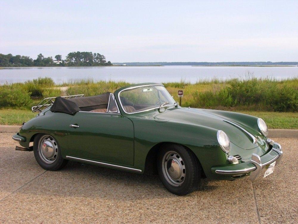 Gorgeous Vintage Porsche Convertible