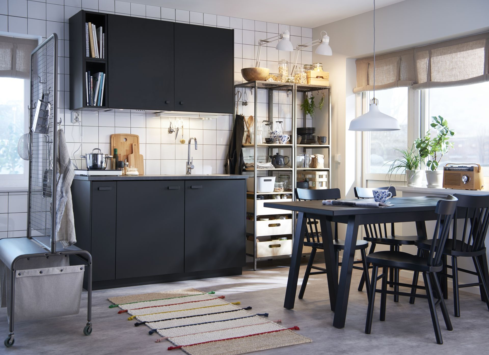 Küchenzubehör Ikea ~ Ikea traditionell stil taupe grau messing griffe bodbyn front