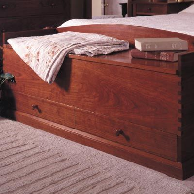Shaker Style Blanket Chest Woodworking Plan From Wood Magazine