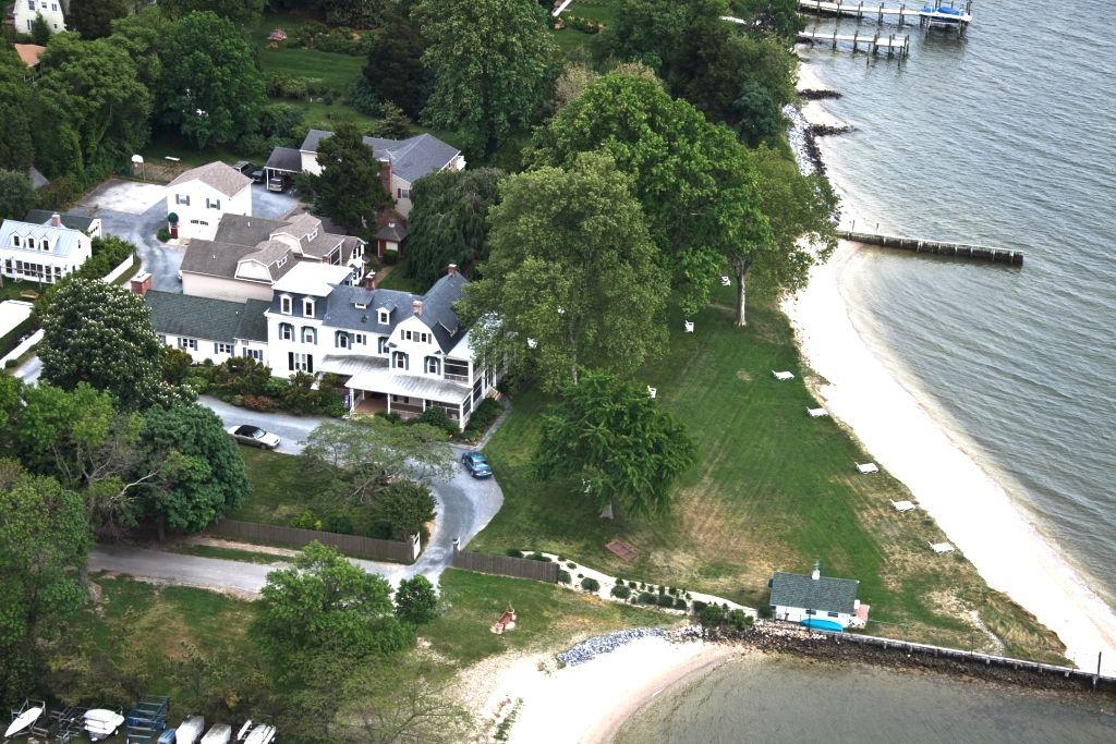Sandaway Inn Oxford Md 1875 Chesapeake Bay Waterfront Places