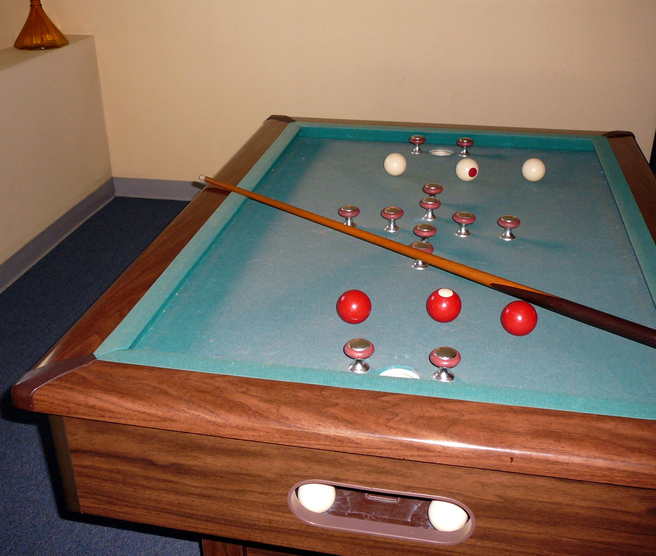 Here Is A Tutorial On How To Play Bumper Pool I Hope You Find It - How big is a pool table