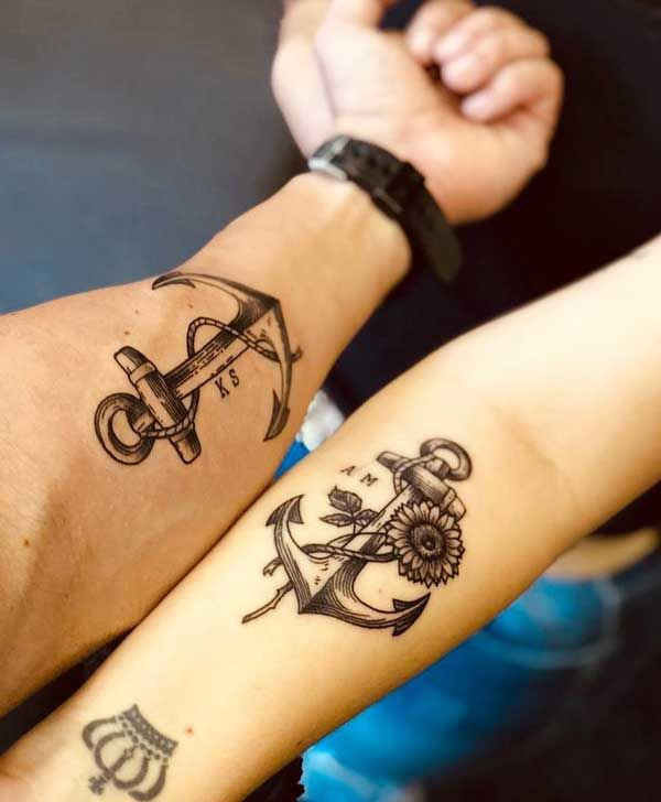 30 Couple Tattoos That Will Stand The Test Of Time - Shenhuifu