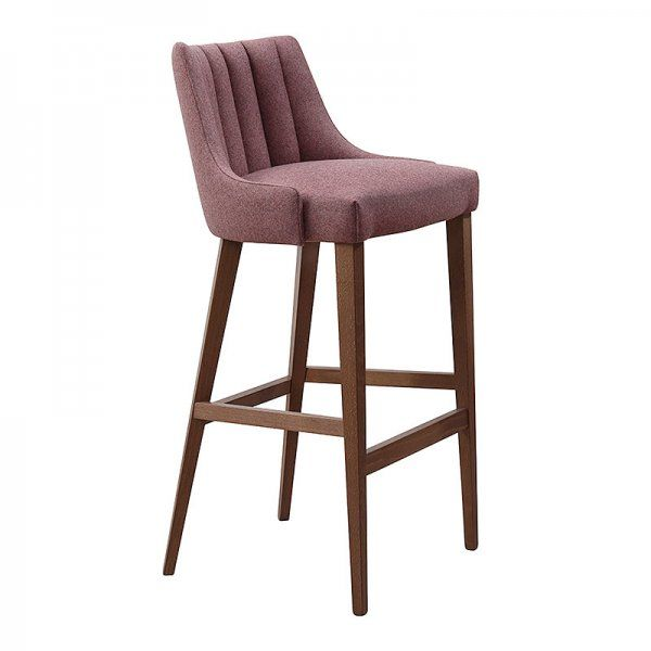 Louvre Fluted Stool Bar Stools Commercial Bar Stools Stool