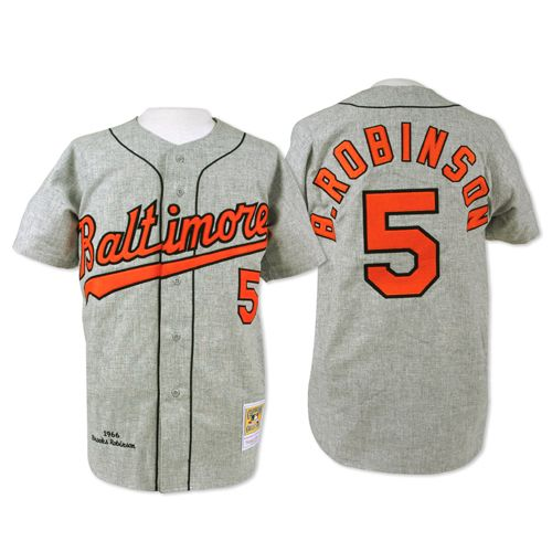 Baltimore Orioles Authentic 1966 Brooks Robinson Road Jersey by Mitchell &  Ness