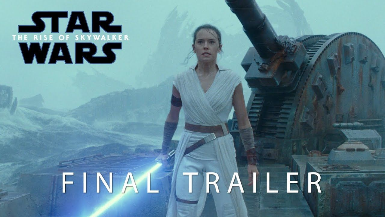 The Journey Comes To An End In The Rise Of Skywalker Star Wars Movie Star Wars Episodes Movie Trailers