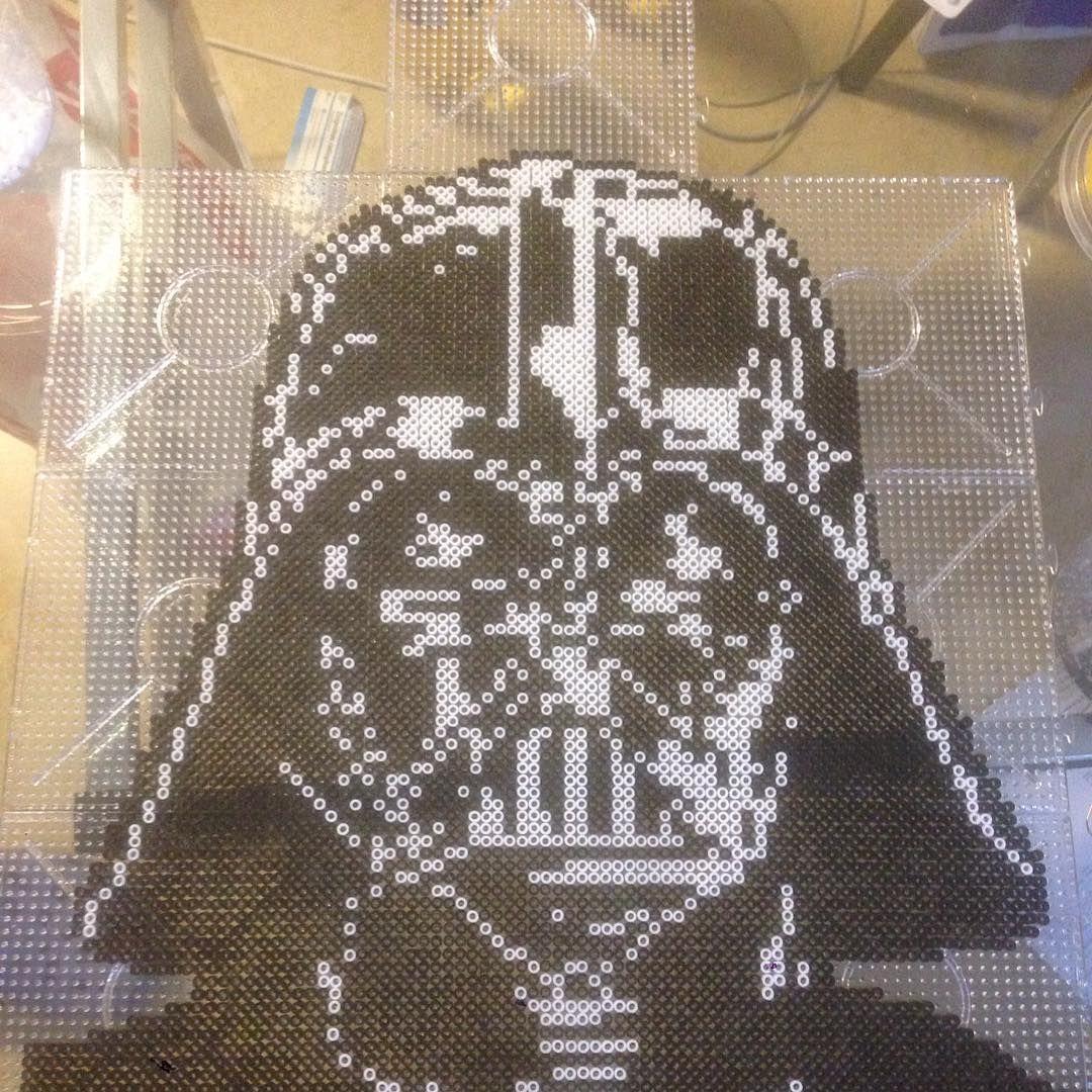 Darth Vader Star Wars Hama Beads By Clockworkdragonfly