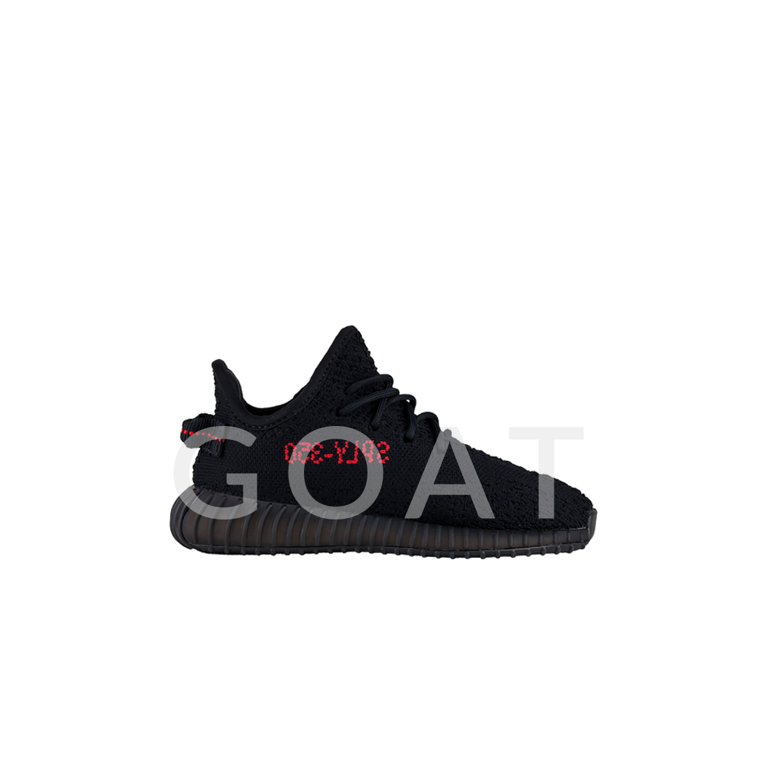 2c1eee2d Yeezy Boost 350 V2 Infant Bred - Adidas - BB6372 - core black/core black/red  | GOAT