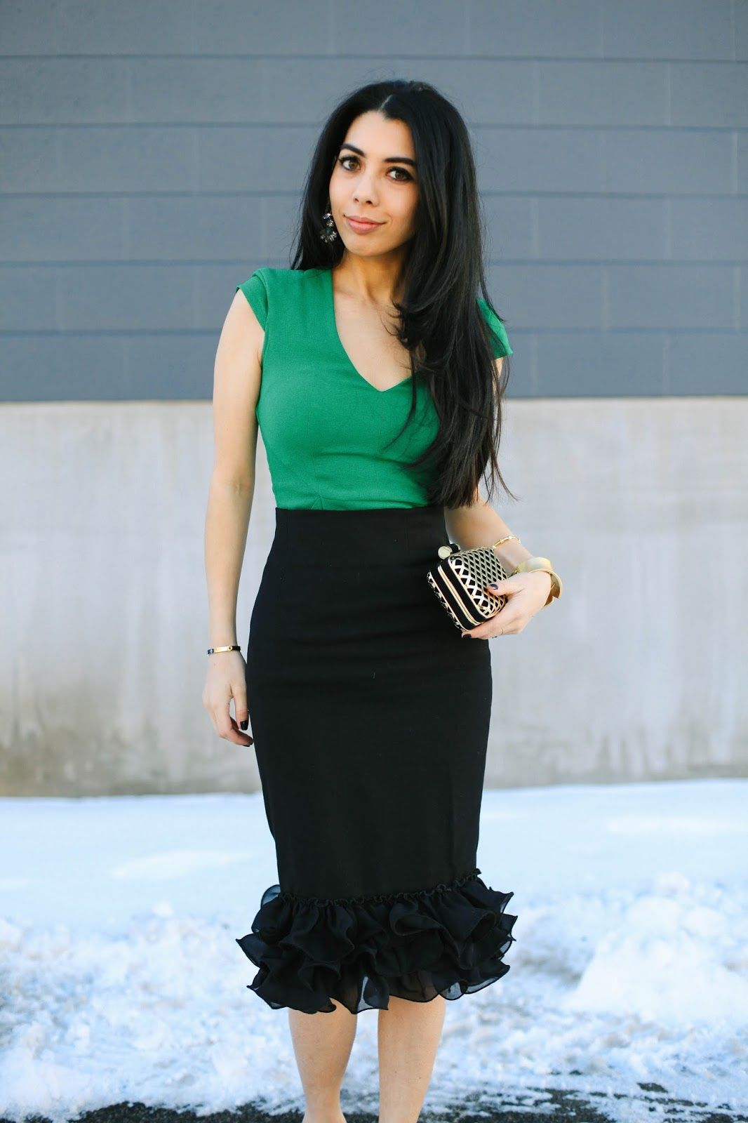 Holiday Party Outfit: Deux