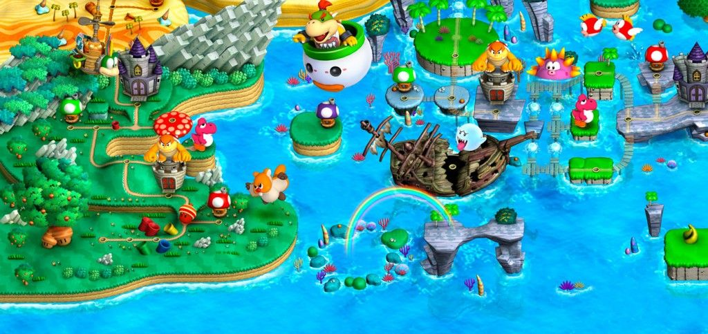 Image result for super mario bros wii u map game environment image result for super mario bros wii u map gumiabroncs Image collections