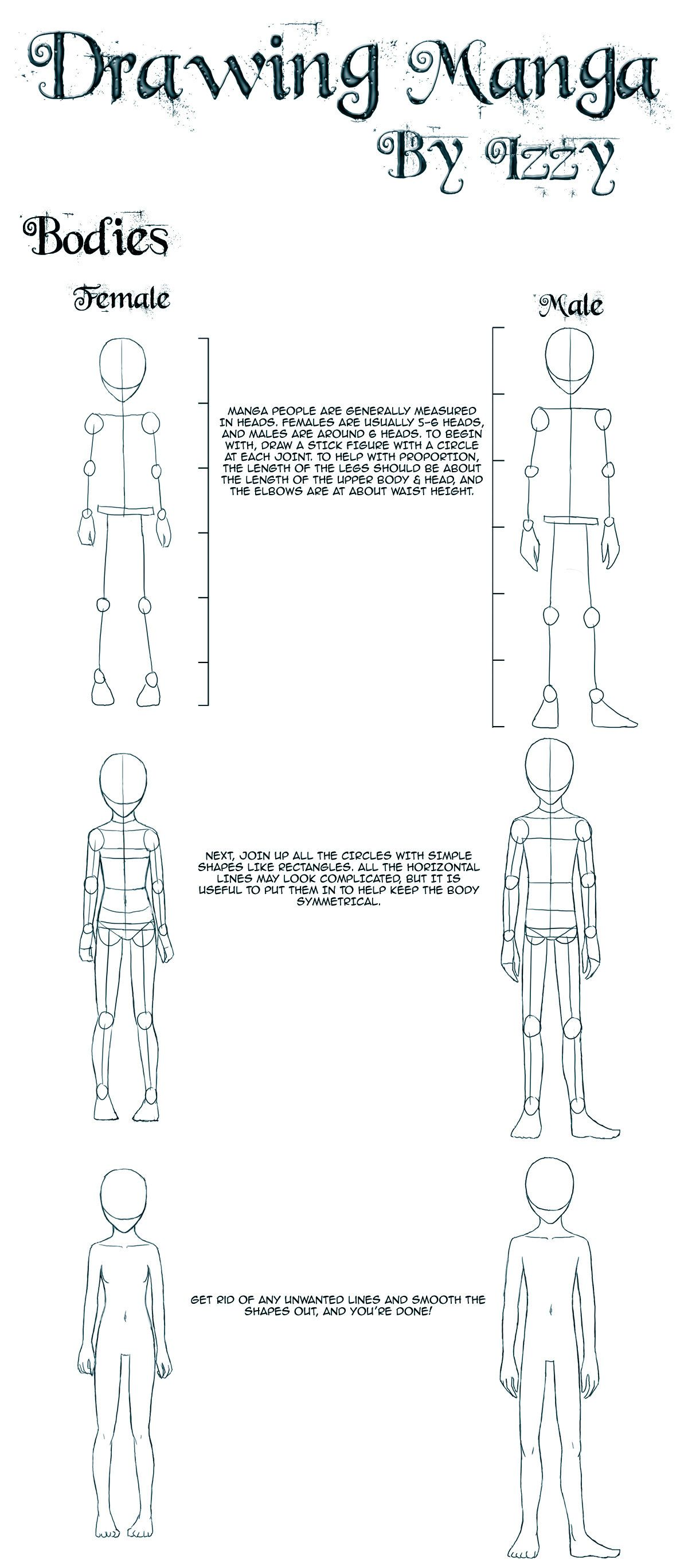 Tutorials Bodies Anime Drawings Tutorials Drawing Tips Draw