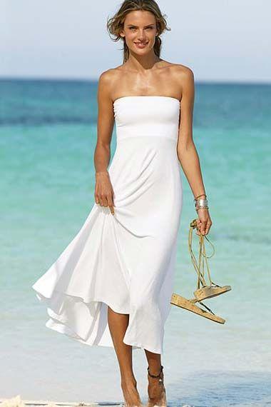 Victoria Secret White Maxi Dress