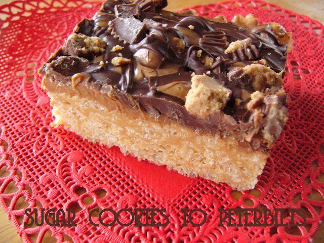 Sugar Cookies to Peterbilts: Overloaded Rice Krispie Bars