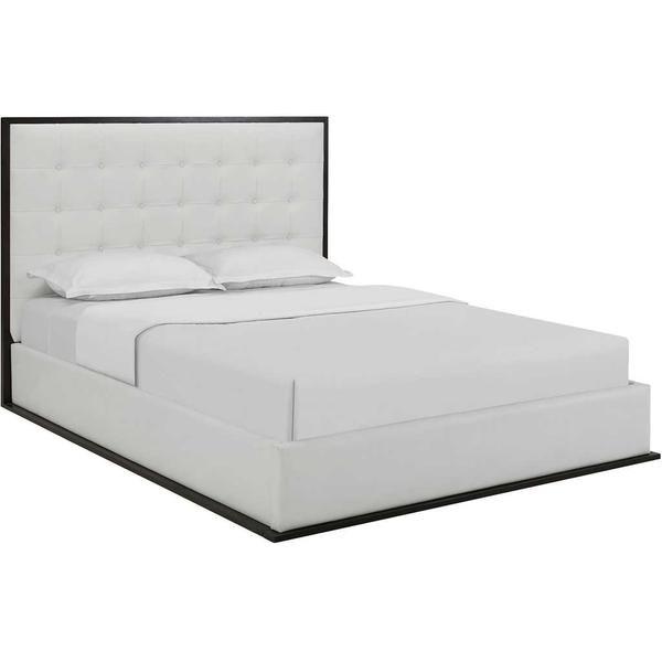 Marina Vinyl Bed Cappuccino/White