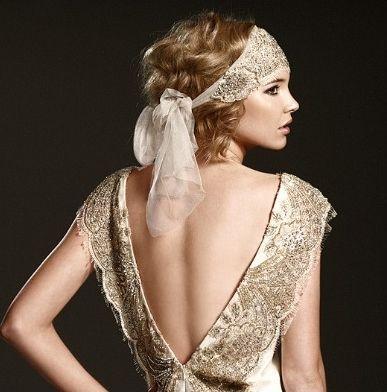 lamb & blonde: Wedding Wednesday: 1920s Inspiration via #TracyChaplin