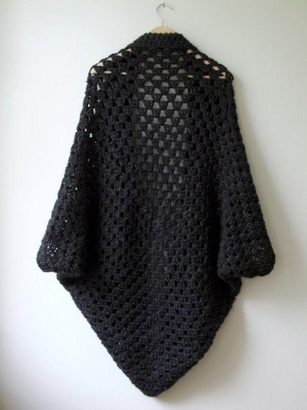 Granny capullo encogimiento de hombros - valles maria | Crochet ...