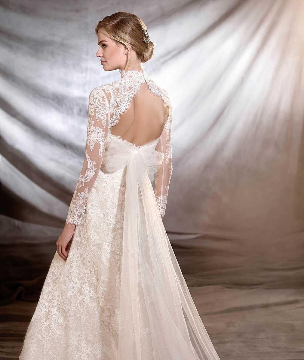 Pronovias Onia Wedding Dress Princess Style - Mia Sposa Bridal ...
