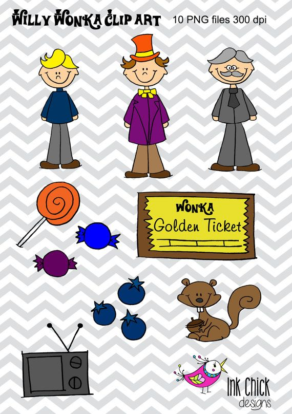 willy wonka clip art charlie and the chocolate factory pinterest rh pinterest co uk willy wonka sweets clipart willy wonka clip art free