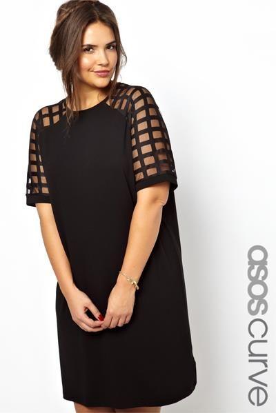 Маленькое черное платье для женщин зрелого возраста