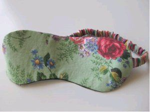 Sleep Mask Diy Sleep Mask Holiday Sewing Sleep Mask