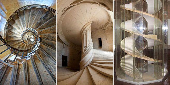 Leonardo Da Vinci S Spiral Staircase In Chateau De Chambord