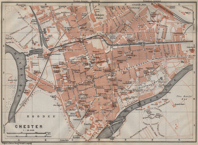 13 best Chester Maps images on Pinterest Cards Chester FC and Maps