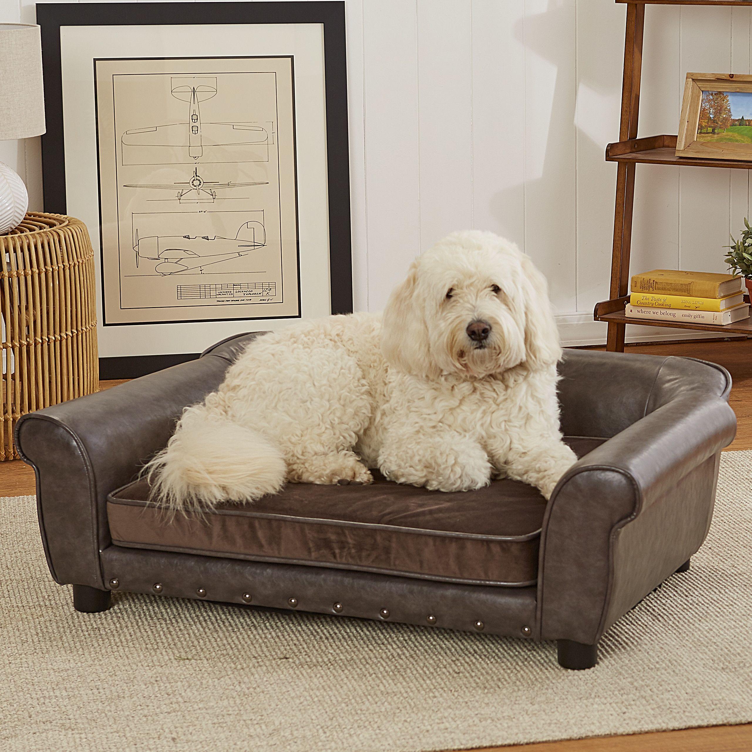 Enchanted Home Pet Spencer Dog Sofa Pet sofa, Pet sofa