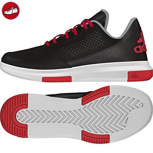 premium selection 1f83c f5bd9 adidas , Herren Sneaker, Multicolor - Schwarz  Rot  Grau - G