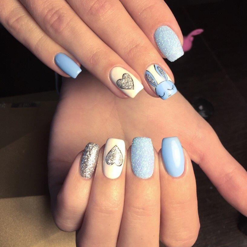 6 Colors Pastel Nail Glitter Simple Classy Bright Short Long Nail ...