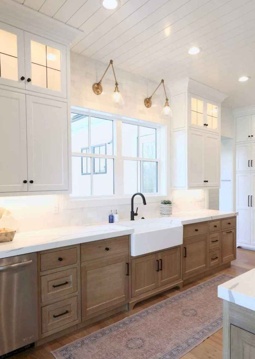 01 Beautiful Farmhouse Kitchen Cabinet Makeover Design Ideas - Farmhouse kitchen design, Modern farmhouse kitchens, Modern kitchen design, Kitchen style, Best kitchen cabinets, Kitchen cabinet design - 01 Beautiful Farmhouse Kitchen Cabinet Makeover Design Ideas