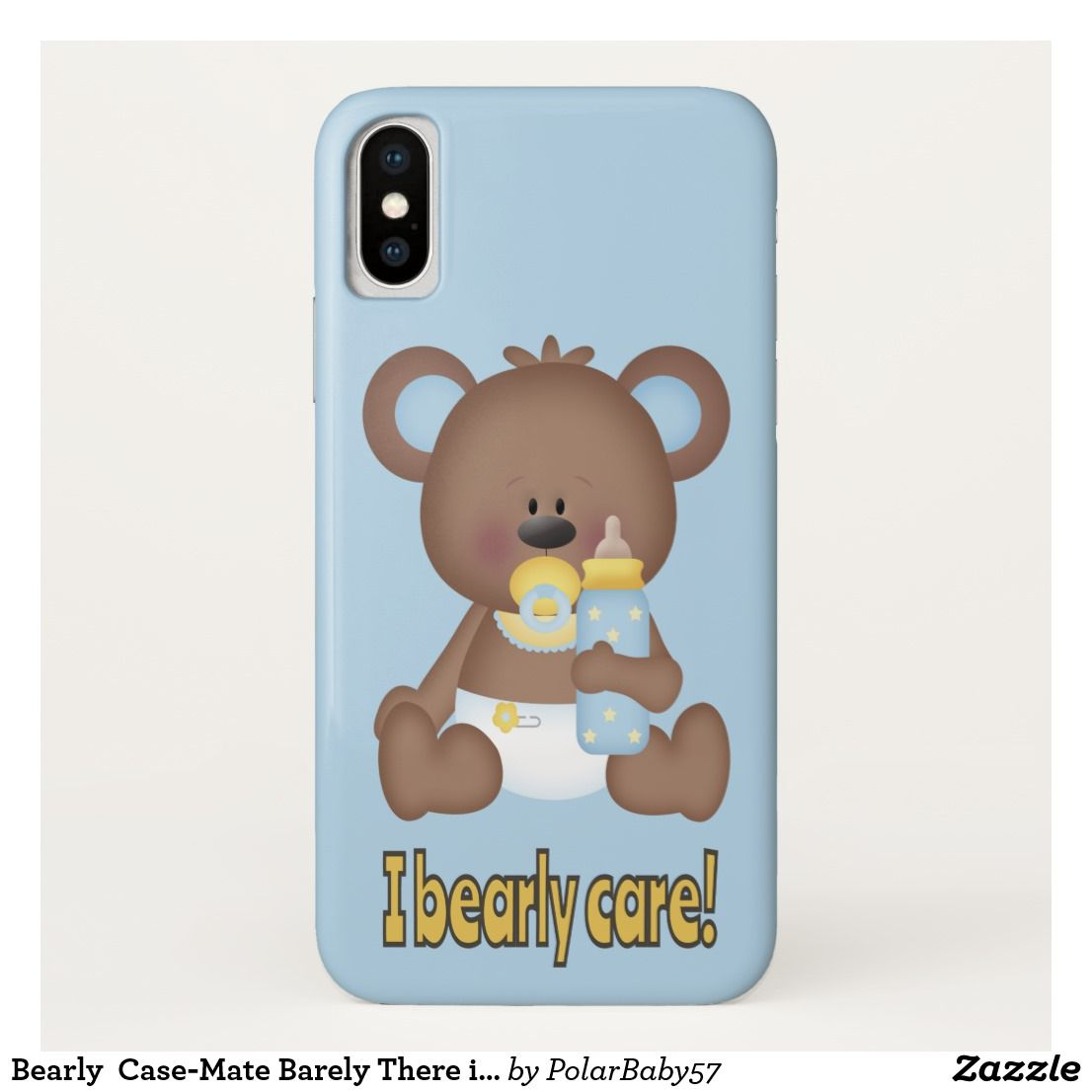 Bearly CaseMate Barely There iPhone X Case