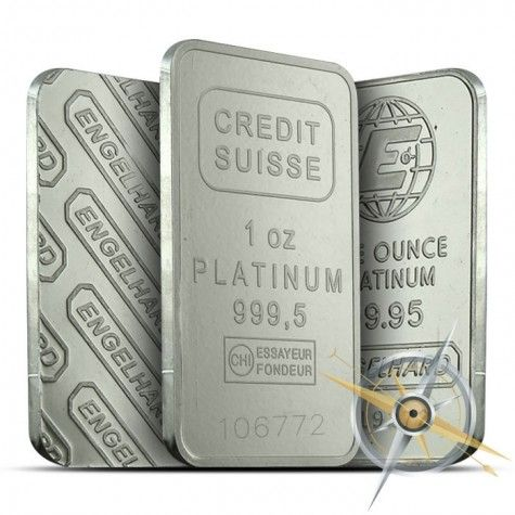 1 Oz Platinum Bar Platinum Bullion Rare Stamps