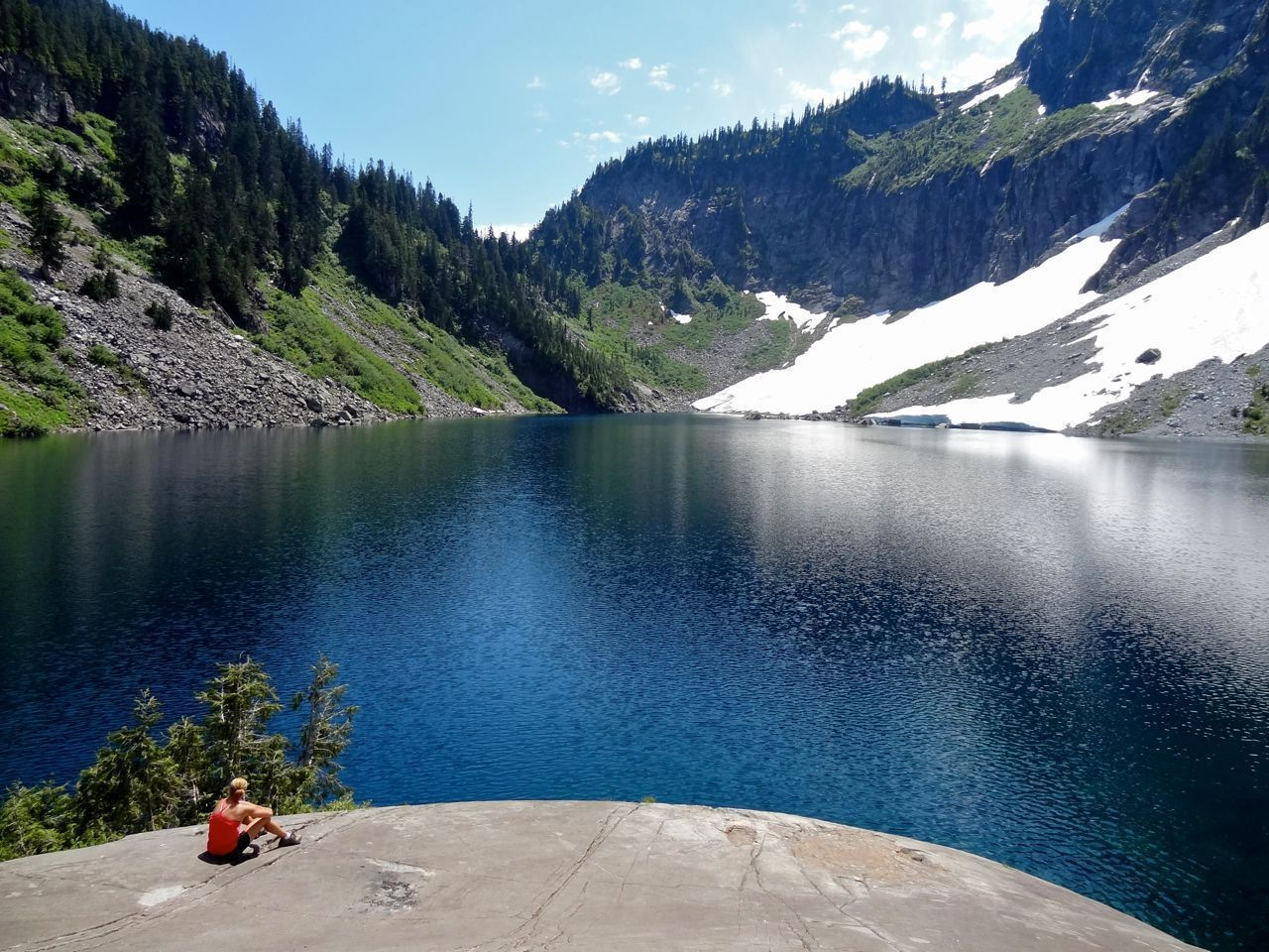 Lake Serene And Bridal Veil Falls Trail Bridal Veil Falls Summer Travel Lake