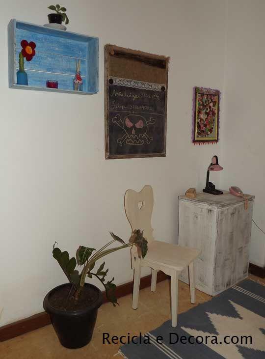 Fotos de Decoração – Hall dos Quartos na Casa da Pri | Recicla e Decora