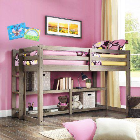 1e237fa709e0fd506ee9f4057c60b523 - Better Homes & Gardens Loft Bed With Spacious Storage Shelves