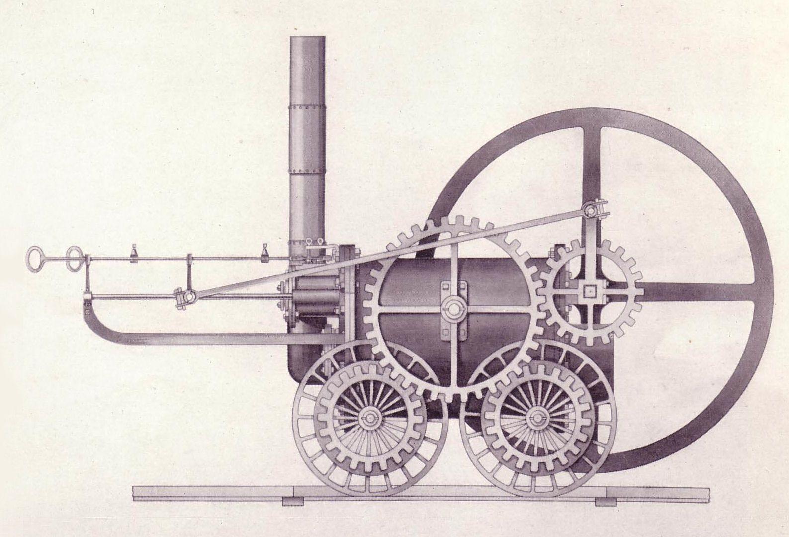 Resultado De Imagen De Maquina De Vapor Revolucion Industrial Steam Locomotive Important Inventions Locomotive