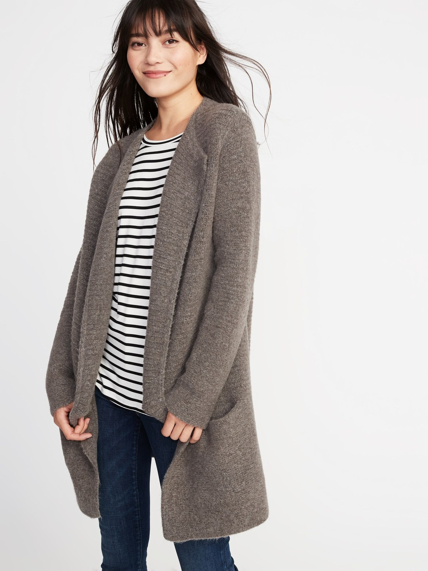 Open Front Cardi-Coat    Old Navy (size down)  47d1d8a4a