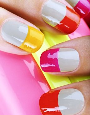 Love these!! Nails Inc Neon & Nude Mini Collection